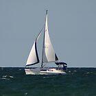 sailing along on lake michigan by wolf6249107