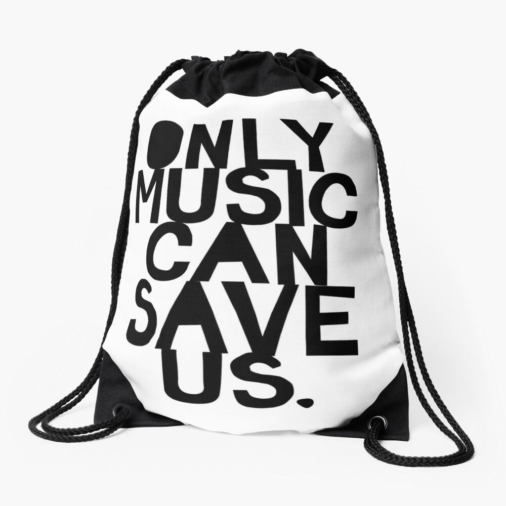 ¡Solo la música nos puede salvar! Mochila saco