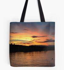 Sunset over Starcross Tote Bag