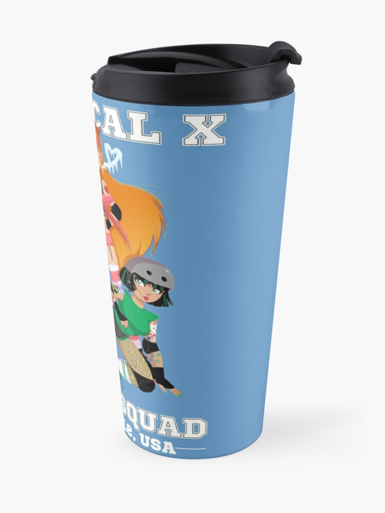 Alternate view of Chemical X Derby Squad Travel Mug