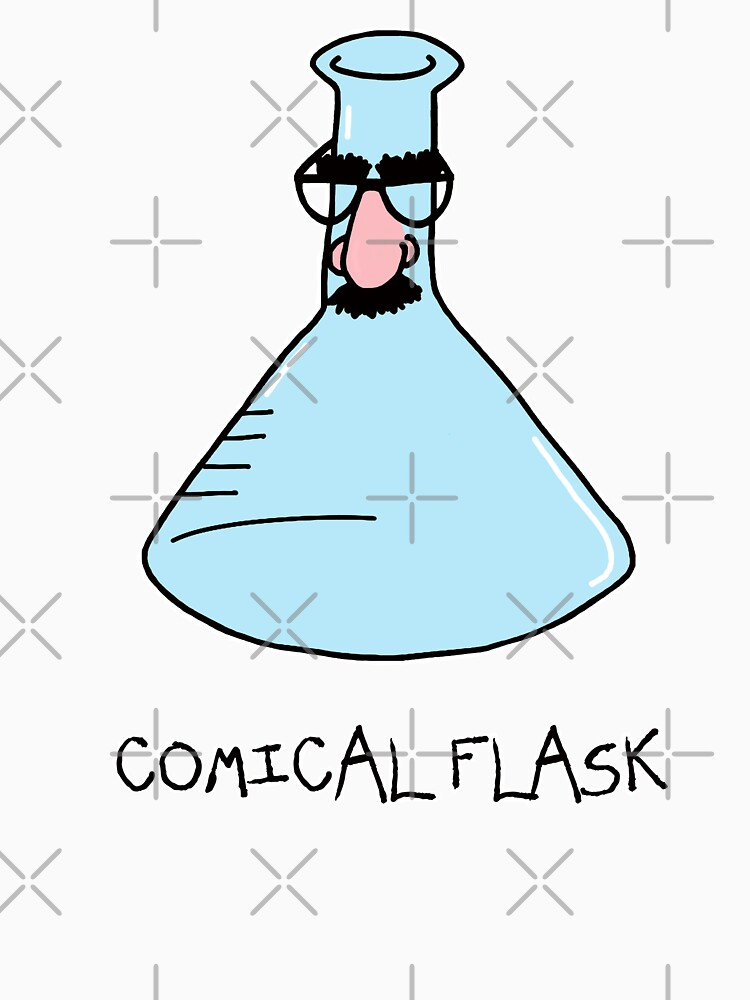 Comical Flask by AdrienneBody