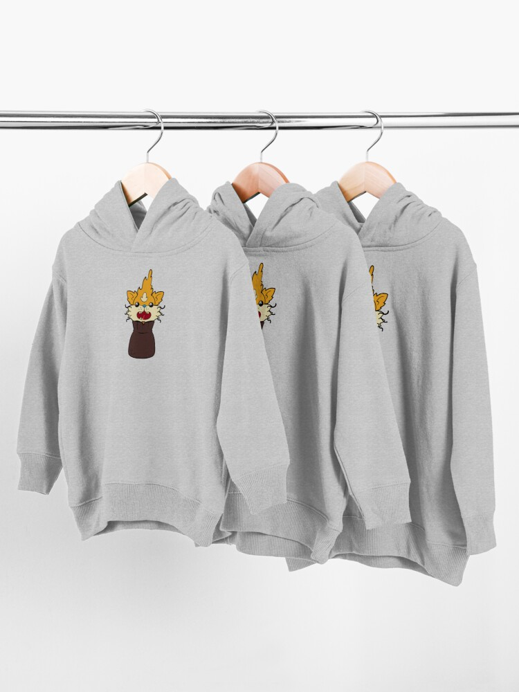 Alternate view of squanch me inside a bag Toddler Pullover Hoodie