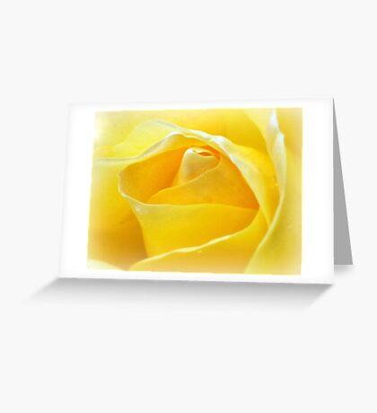 Lemon Petals Greeting Card