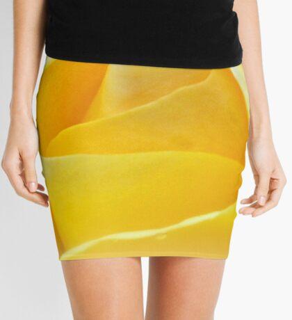 Lemon Petals Mini Skirt