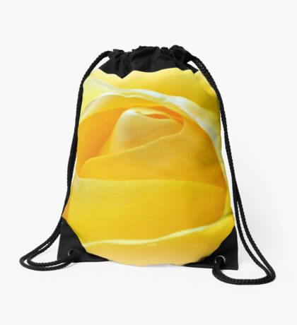 Lemon Petals Drawstring Bag