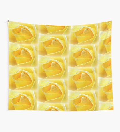 Lemon Petals Wall Tapestry