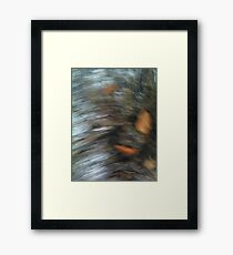 Faces in the Shadows Framed Print