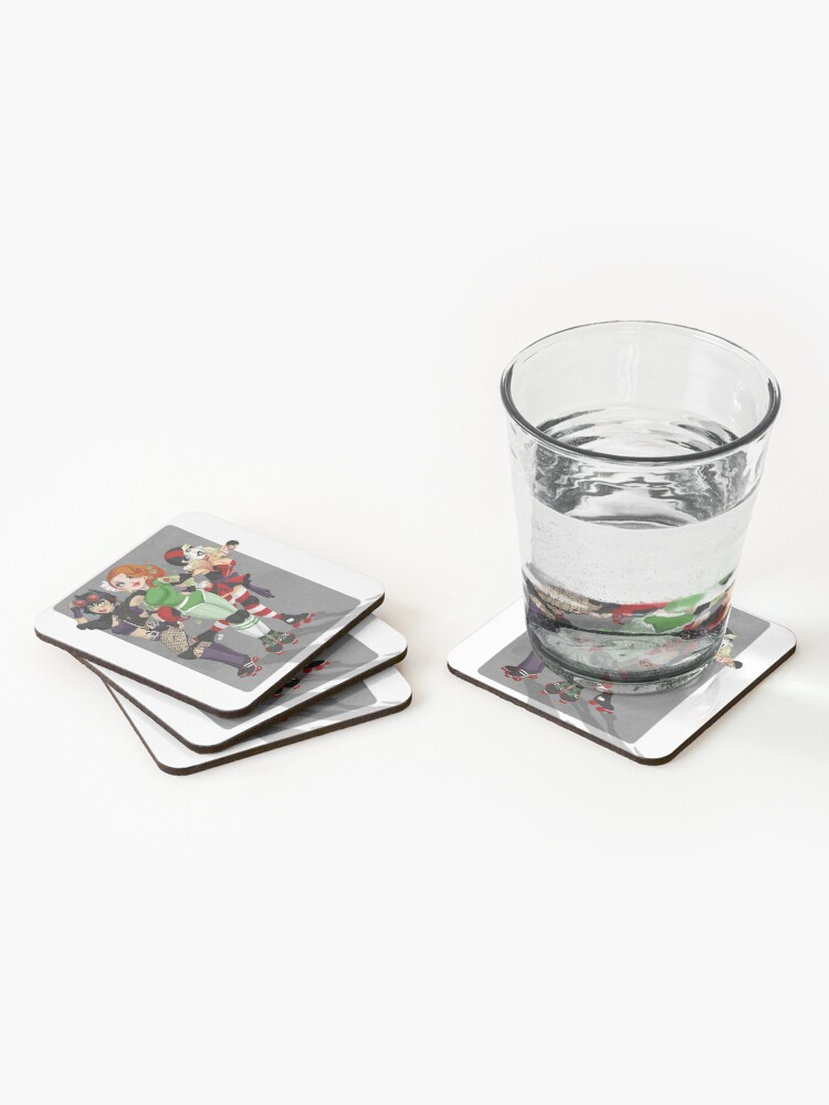 Alternate view of Derby Villains Coasters (Set of 4)