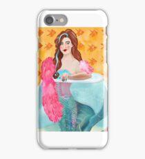 Vaudeville  mermaid  iPhone Case/Skin