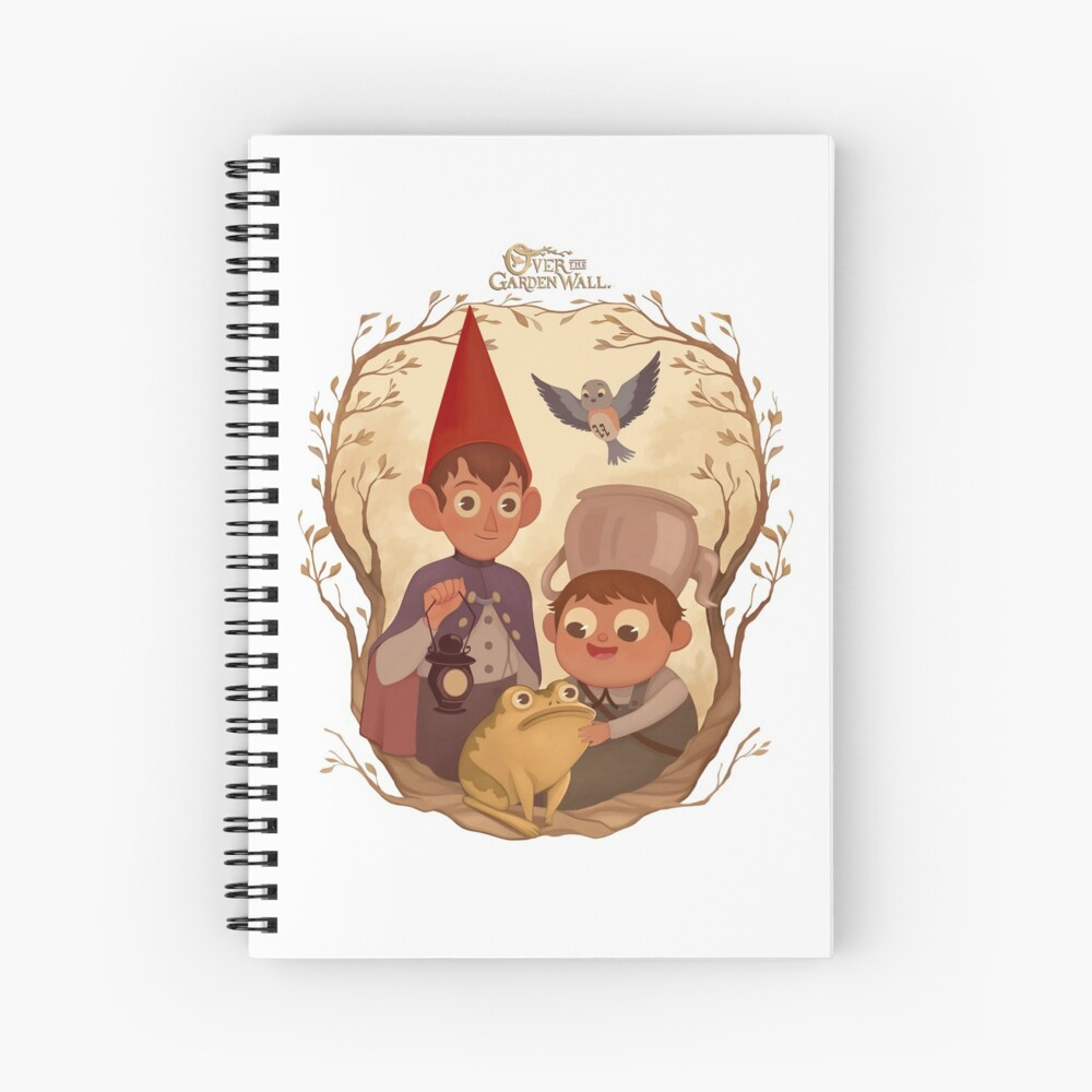 Over the garden wall Spiral Notebook