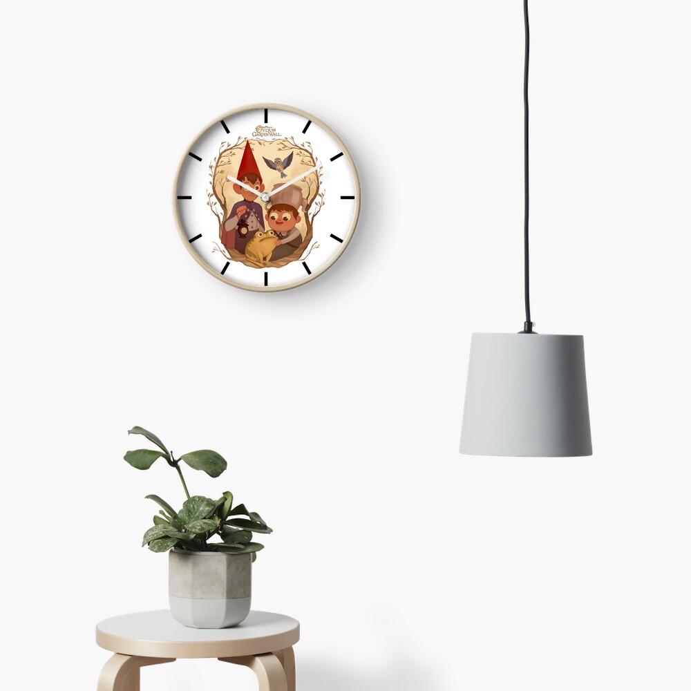 Over the garden wall Clock