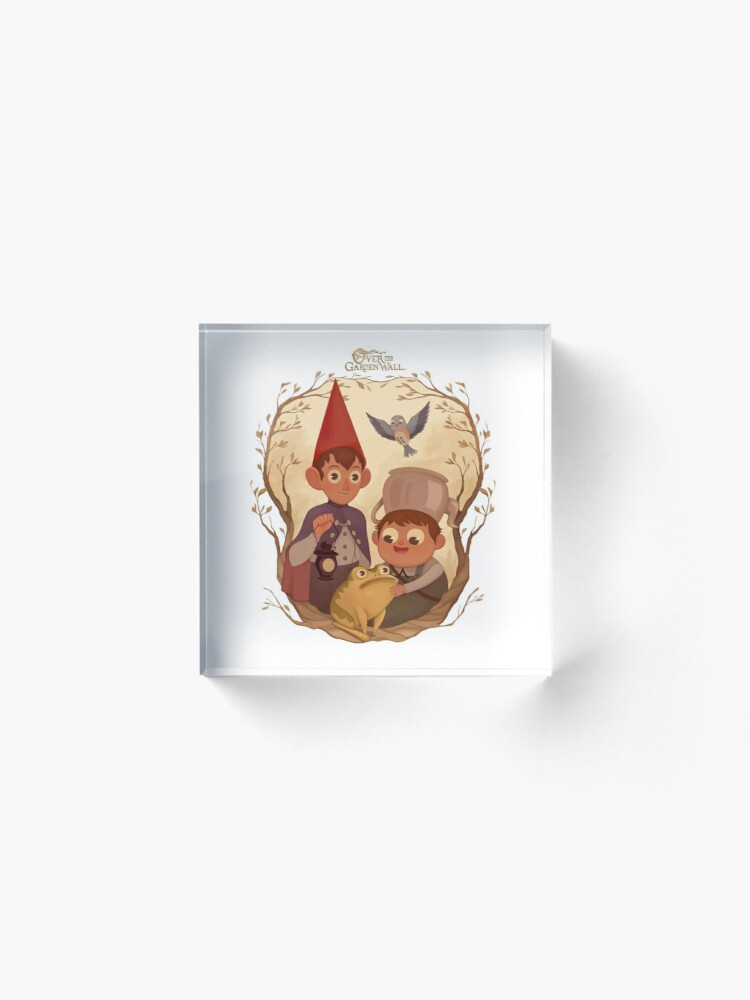 Alternate view of Over the garden wall Acrylic Block