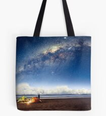 Camping in a fairytale Tote Bag