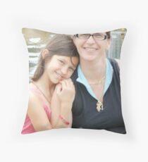 Jan & Priscilla Hagerman Throw Pillow