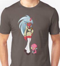 Kneesocks and Fastener T-Shirt