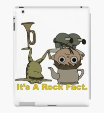 Greg and pet Frog. It's a Rock Fact.  iPad Case/Skin