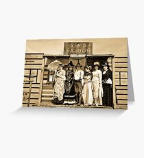""" Wild West "" Greeting Card"