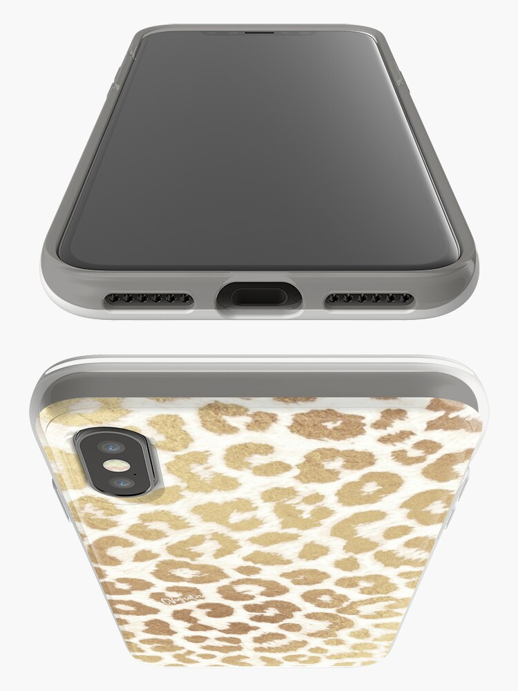 Alternate view of ReaL LeOpard - Greek Ancient Gold iPhone Case & Cover