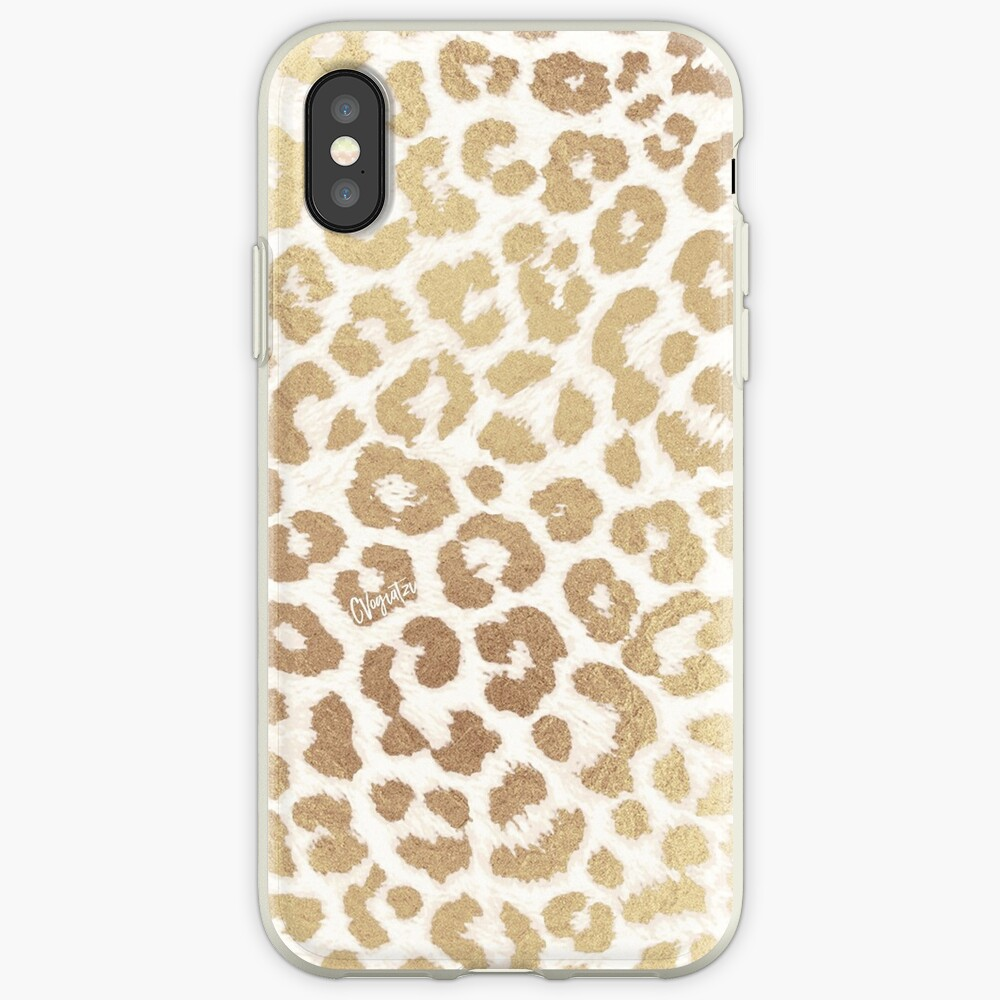 ReaL LeOpard - Greek Ancient Gold iPhone Case & Cover
