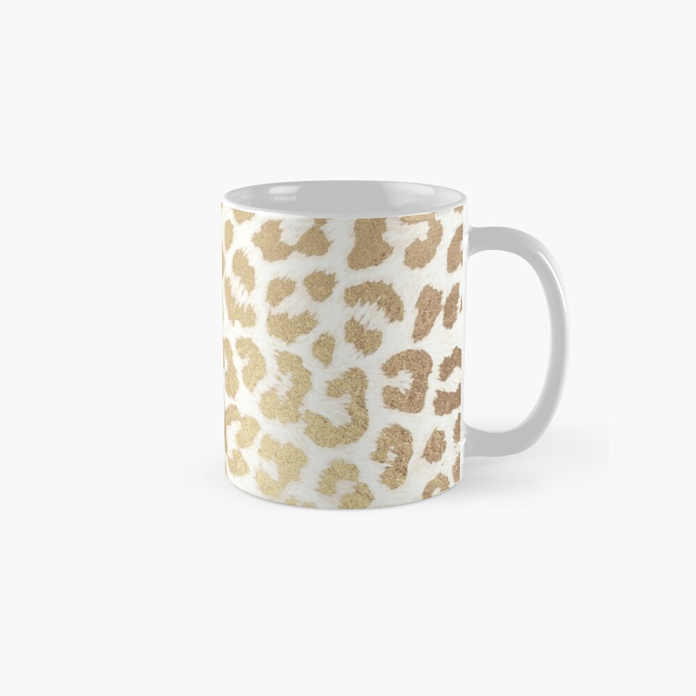 ReaL LeOpard - Greek Ancient Gold Mug