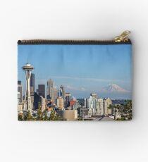 Seattle Skyline Studio Pouch