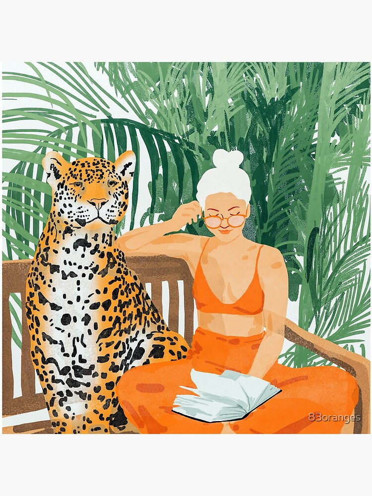 Jungle Vacay II #painting #illustration by 83oranges