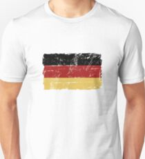 German Flag - Vintage Look T-Shirt