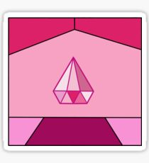 Pink Diamond Square - Steven Universe Sticker