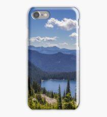 Dewey Lake Mt Rainier National Park iPhone Case/Skin