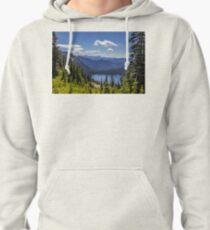 Dewey Lake Mt Rainier National Park Pullover Hoodie