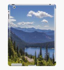 Dewey Lake Mt Rainier National Park iPad Case/Skin