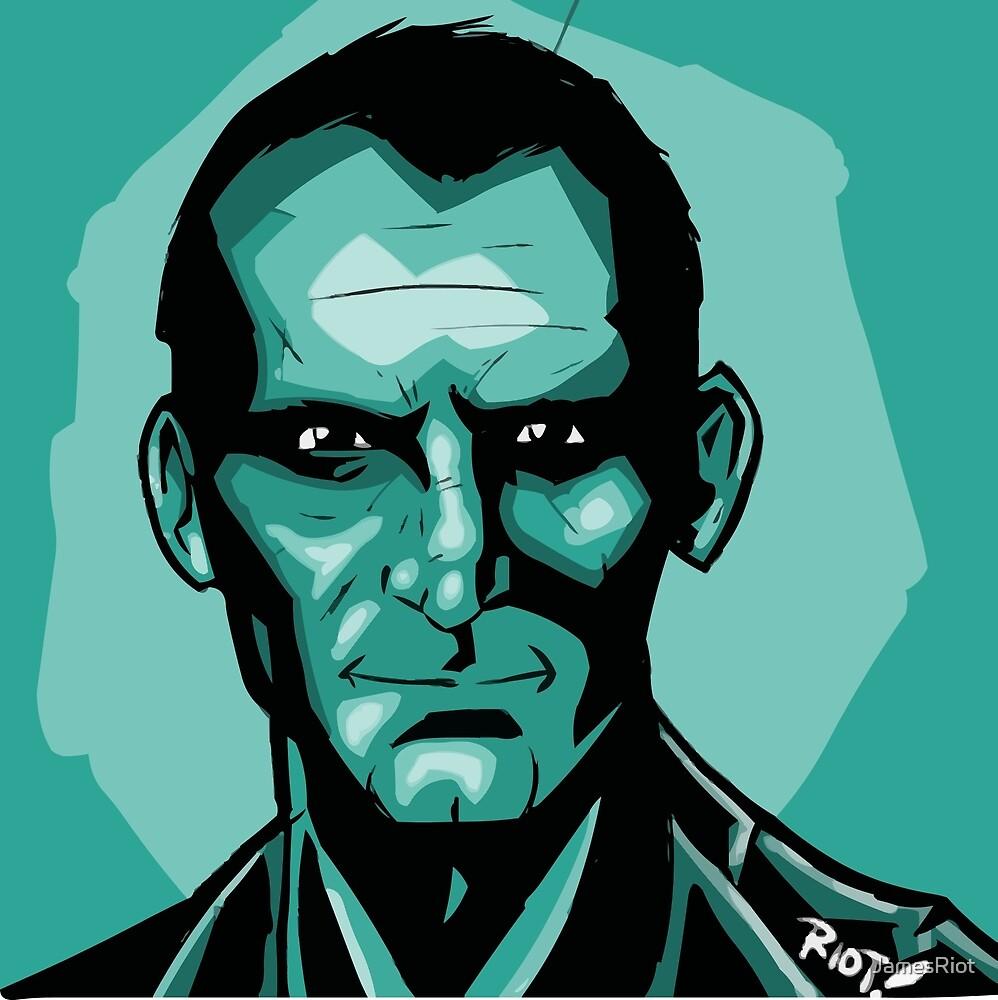 The Ninth Doctor by Ragnaroktopus  Ink