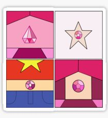 Pink Evolution - Steven Universe Sticker