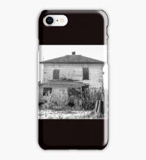 Abandoned White Farmhouse iPhone Case/Skin