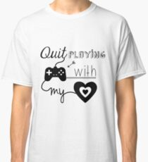 BSB - Quit playing games with my heart... Classic T-Shirt