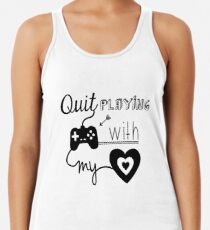 BSB - Quit playing games with my heart... Women's Tank Top