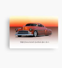 1951 Chevrolet 'Kustom' Bel Air II Metal Print