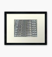 Hanover, Broomhall flats ,Sheffield 3 Framed Print