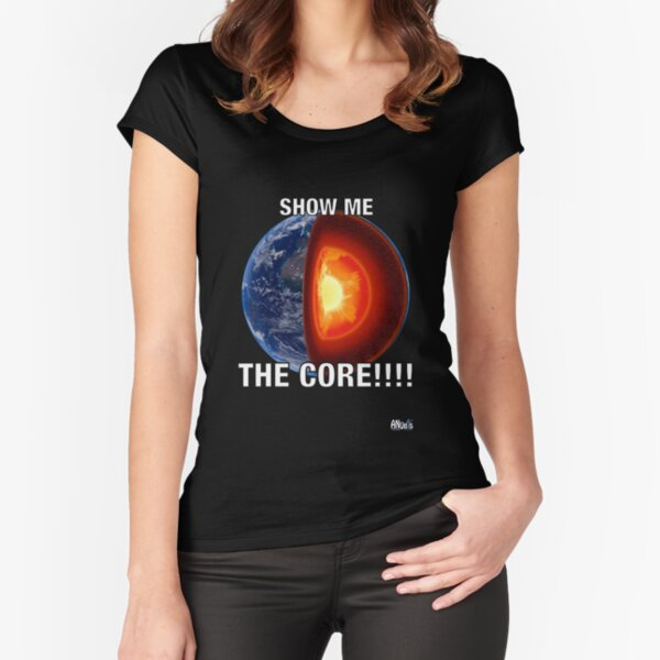 Show me the Core Fitted Scoop T-Shirt