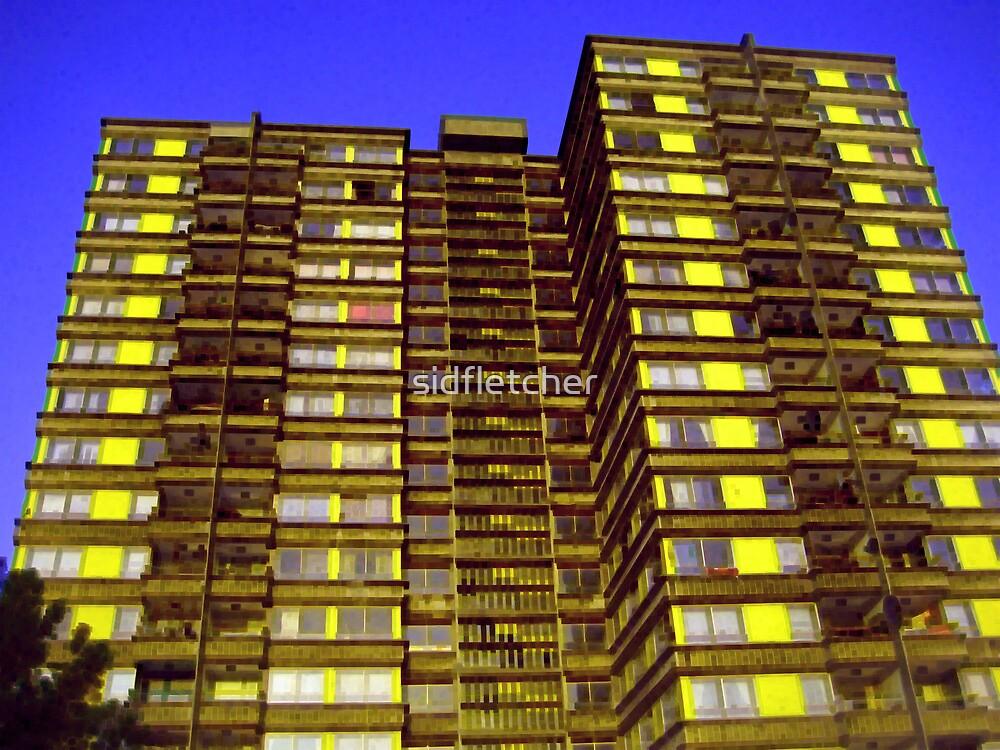 Broomhall flats , Sheffield, Urban pixels by sidfletcher