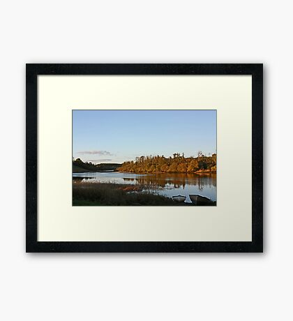 Derries in the late evening sun Framed Print