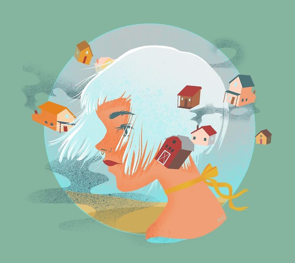 Little Houses by Rachel Goyeau