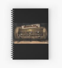 Rusty's Bar Spiral Notebook