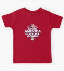 Donald Trump Make America Great 2016 Kids Clothes