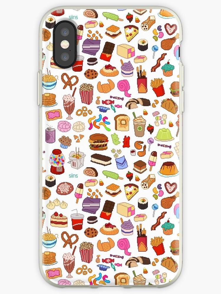 coque iphone xr nourriture