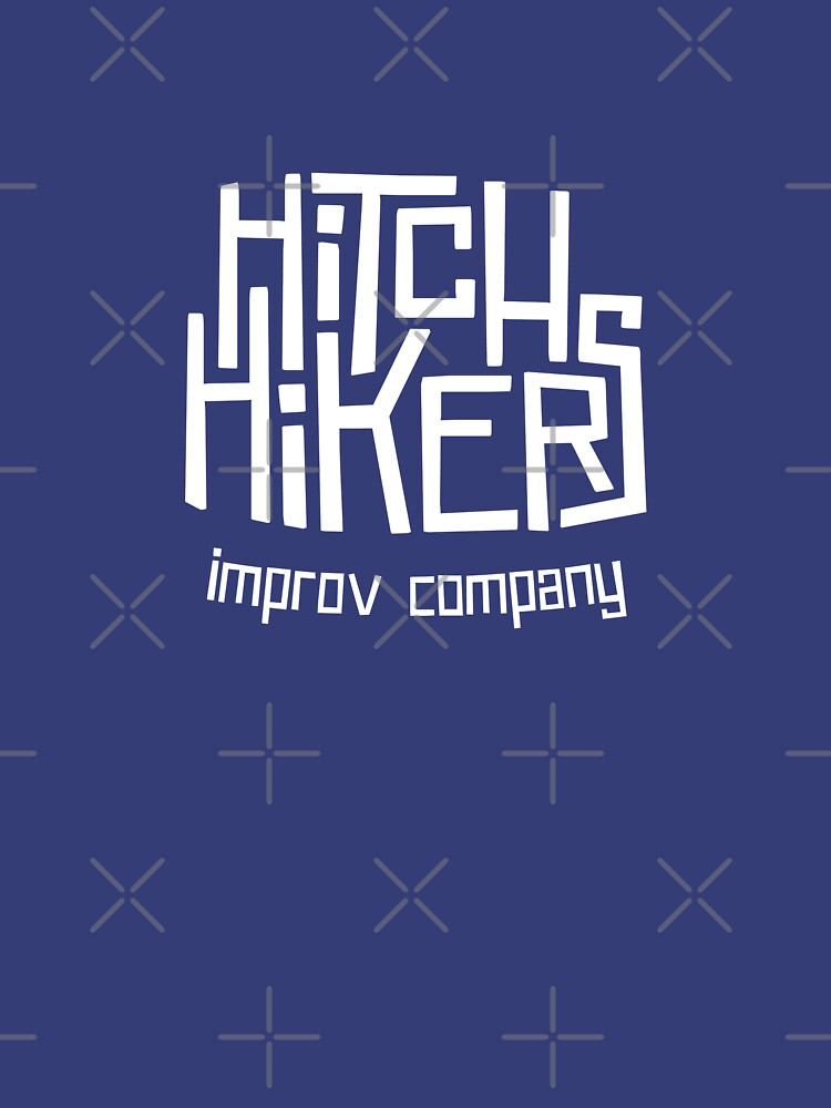 Hitchhikers Improv (Retro White) by madeinsask