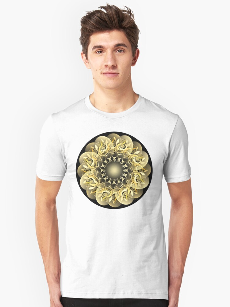 Golden Flower Unisex T-Shirt Front