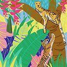 Jungle Cats by Marlagill