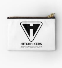 Hitchhikers Improv (Black) Studio Pouch