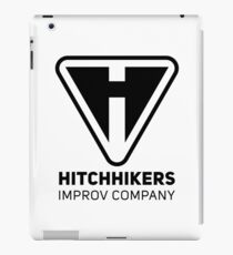 Hitchhikers Improv (Black) iPad Case/Skin